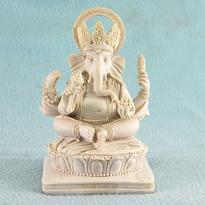 Ganesha - soška sedící 14 cm