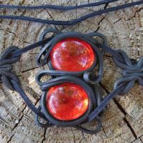 Fantasy šperk - Životní síla, červená