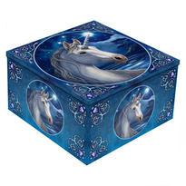 Šperkovnice exclusive fantasy - Bílý jednorožec