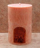 Svíčka Egypt - Matternichova Stella, 7,6 x 15 cm