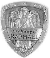 Štít archanděla Rafaela