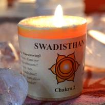 Svíčka čakra 2 - sakrální Swadisthana