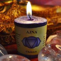 Svíčka čakra 6 - třetí oko Ajna