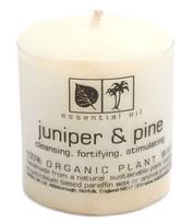 Svíčka Aromatherapy s vůní borovice a jalovce