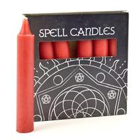 Magické svíčky 6 ks, červená