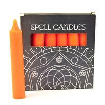 Magické svíčky 6 ks, oranžová