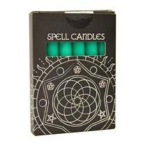 Magické svíčky 6 ks, zelená