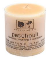 Svíčka Aromatherapy s vůní Patchouli