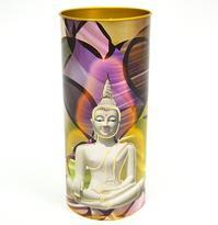 Svíčka Bílý Buddha