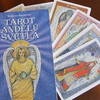 Tarot andělů světla - Rebecca Bachstein