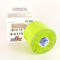 BB Tape kineziotape s turmalínem 5 m, lime