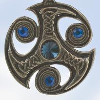 Amulet Trefot s kameny Swarovski
