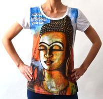 Dámské tričko orient - Buddha