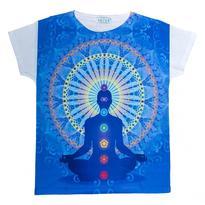 Dámské tričko orient - Chakra Buddha
