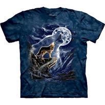 Fantasy tričko - Duch vlka L