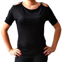 Dámské tričko Elegance - gothic, černé S