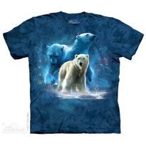 Fantasy tričko - Polární medvěd XL