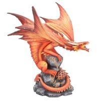 Socha fantasy exclusive - Velký ohnivý drak