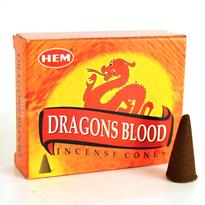 Vonné kužely HEM - Dragons Blood
