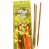 Vonné tyčinky Hari - Ambra a santalové dřevo