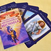 Vykládací karty archanděla Michaela + kniha