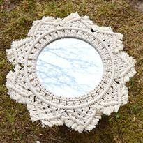 Šamanské zrcadlo IINII Kwamba 35 cm