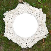 Šamanské zrcadlo IINII Nyumba 35 cm