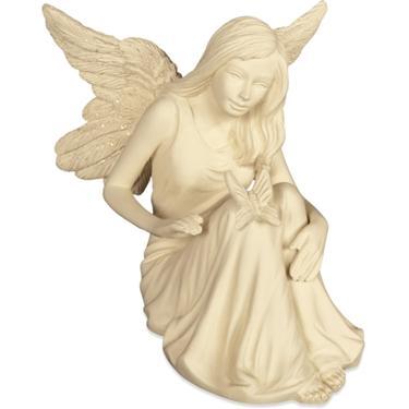 Andělská soška - andílek s motýlem  - 1