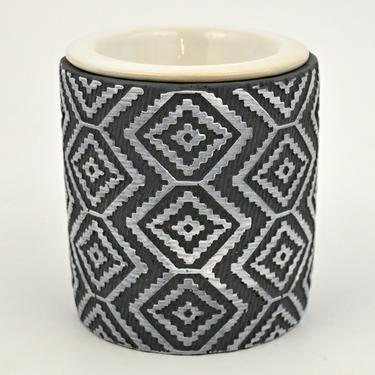 Aromalampa Kosočtverce, keramika  - 1