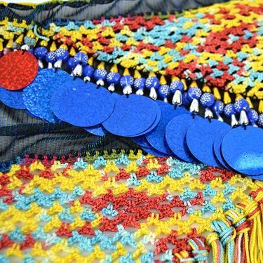 Šátek na břišní tanec Meri  - 1