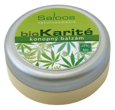 Saloos Bio Karité Konopný bio balzám 50 ml