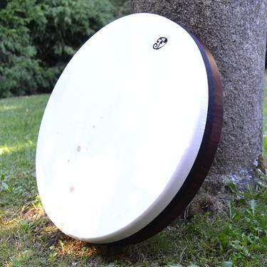 Rámový laditelný buben Daf, kozí kůže 52 cm  - 1