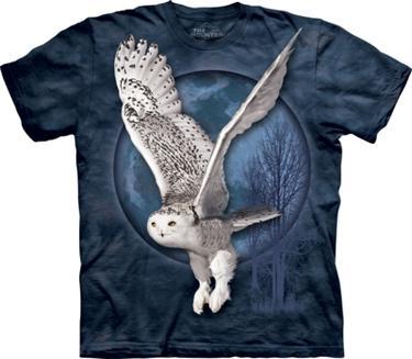 Fantasy tričko - Sněžná sova M - 1