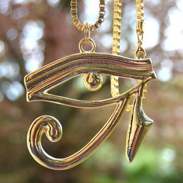 Faraonský náhrdelník - Zlaté Horovo Oko  - 1