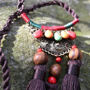Šamanský náhrdelník IINII - Langi  - 1
