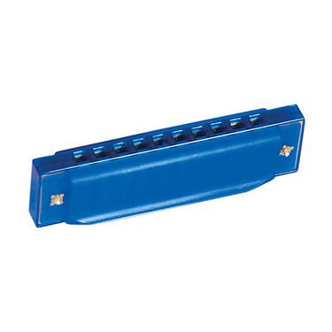 Foukací harmonika modrá - dětské hudební nástroje