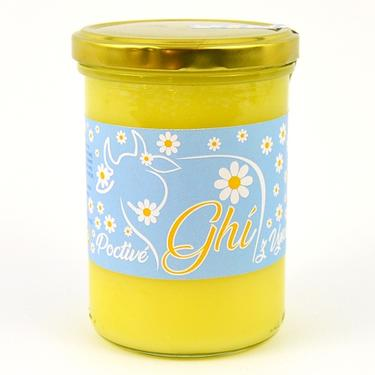 Poctivé Ghí - přepuštěné máslo, 450 g