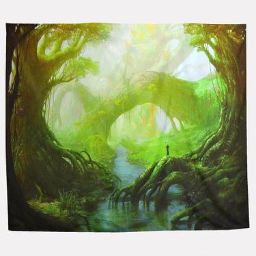 Šátek - přehoz Čaroděj Země  - 1