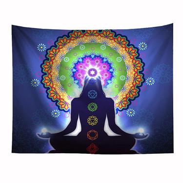 Šátek - přehoz Meditation Chakra  - 1