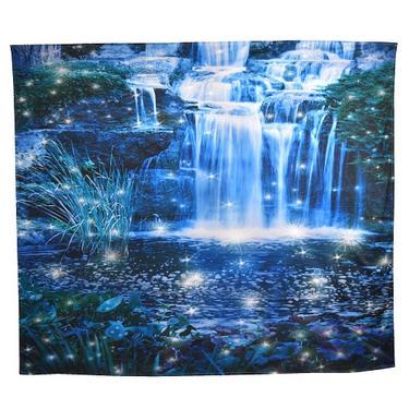 Šátek - přehoz Kouzelné vodopády  - 1