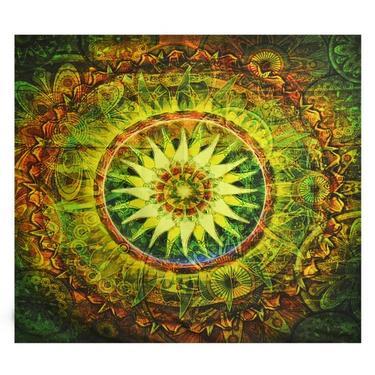 Šátek - přehoz Květina džungle  - 1