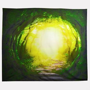 Šátek - přehoz Lesní Portál  - 1