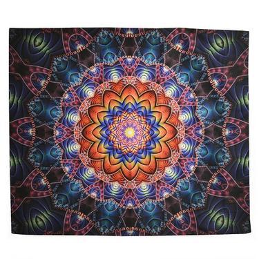 Šátek - přehoz Mandala Fantazie  - 1