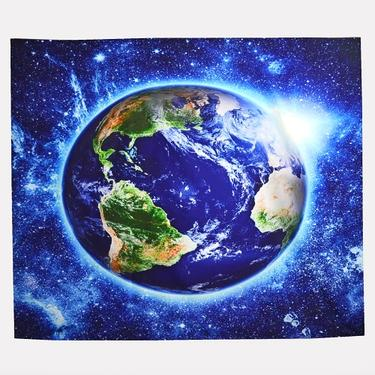 Šátek - přehoz Modrá planeta  - 1