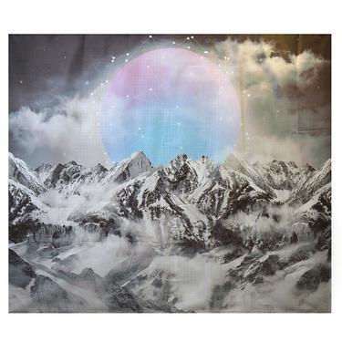 Šátek - přehoz Mystický měsíc  - 1