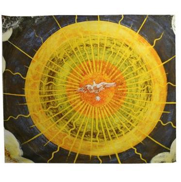 Šátek - přehoz K Slunci blíž  - 1
