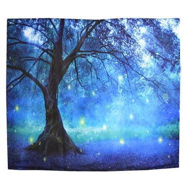 Šátek - přehoz Kouzelný les  - 1