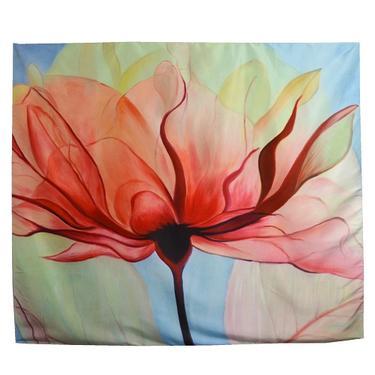 Šátek - přehoz Lotosová krása  - 1