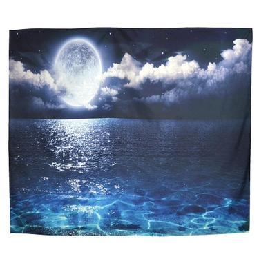 Šátek - přehoz Měsíc na moři  - 1
