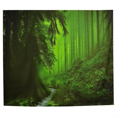 Šátek - přehoz V hlubinách lesa  - 1